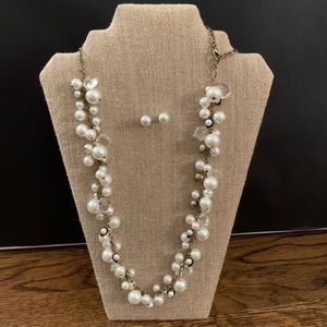 Chloe + Isabel Pearl Statement Set